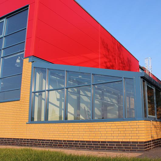 Metallbau Medoch GmbH in Magdeburg - Referenz Berufsorientierte Werkstätten, Wolmirstedt