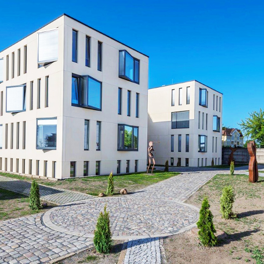 Metallbau Medoch GmbH in Magdeburg - Referenz Neubau Büro- und Verwaltungsgebäude B.T. innovation GmbH, Magdeburg