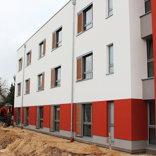 Metallbau Medoch GmbH in Magdeburg - Referenz Neubau Seniorenpflegeheim, Zeuthen
