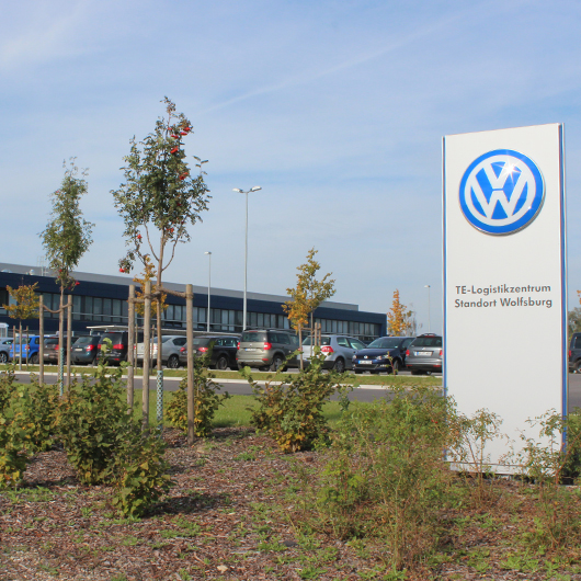 Metallbau Medoch GmbH in Magdeburg - Referenz VW TE Logistikzentrum Warmenau Wolfsburg Vorschaubild