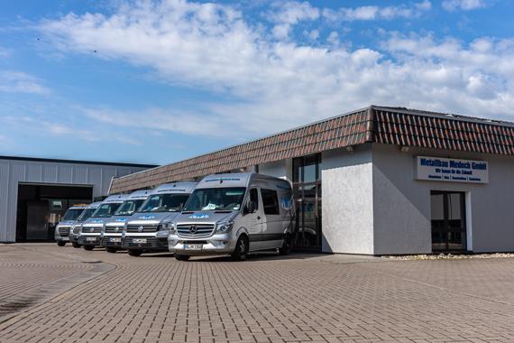 Metallbau Medoch GmbH - Außenansicht 2