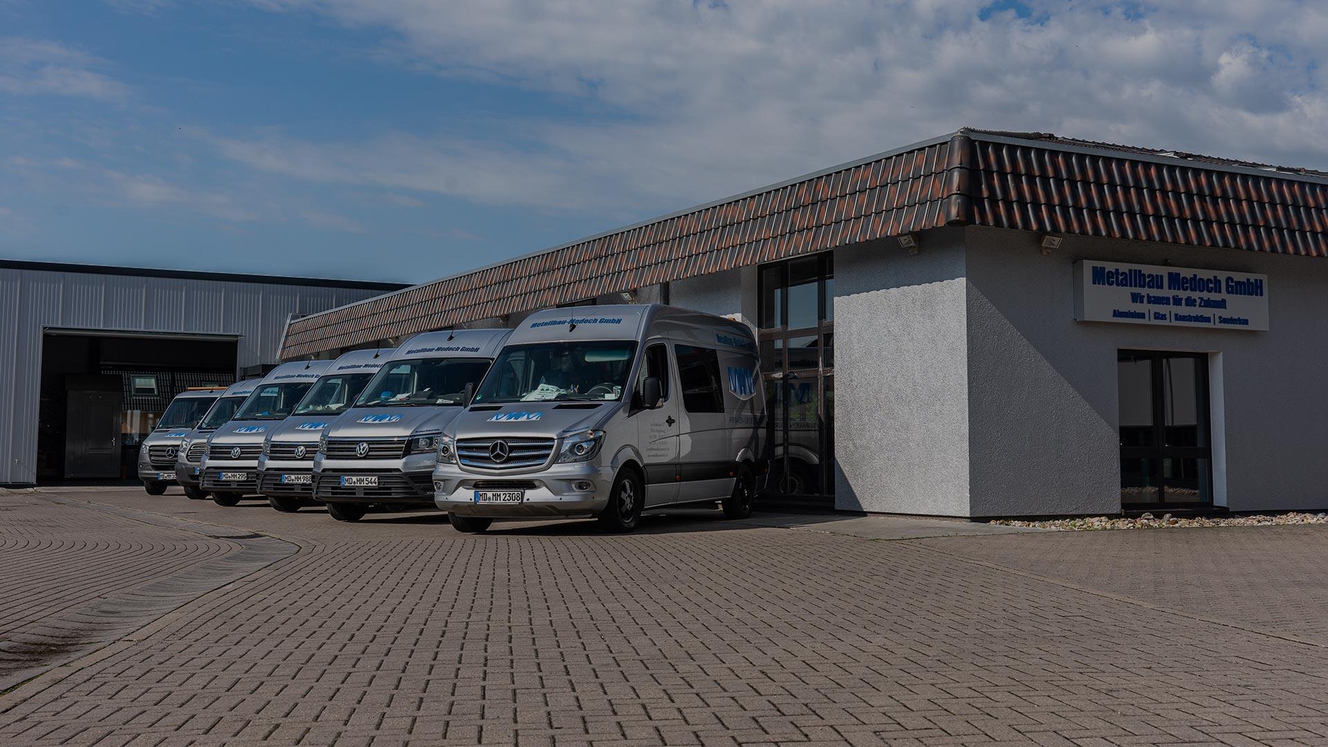 Metallbau Medoch GmbH in Magdeburg - Außenansicht 2